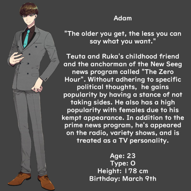 Adam profile translation