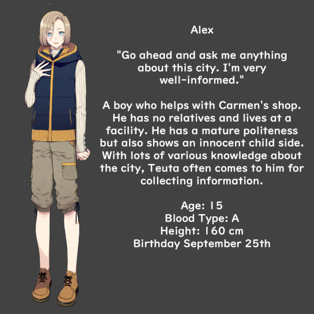 Alex Profile translation